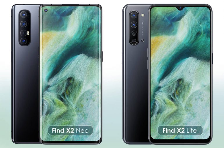 Oppo Find X2 5G telefoons