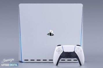 PlayStation 5 game console met Sony DualSense controller
