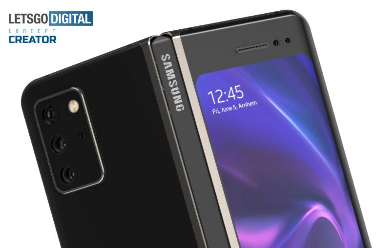 Samsung Galaxy Note Fold opvouwbare smartphone