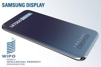 Samsung Galaxy telefoon scherm