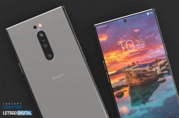 Sony Xperia 5G smartphone