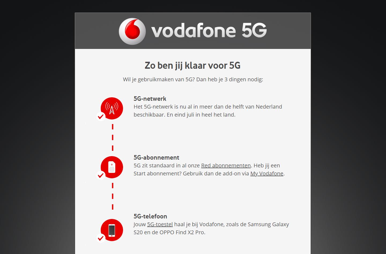 Vodafone 5G Oppo Find X2 Pro