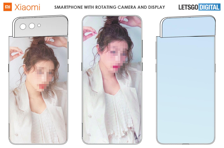 Xiaomi telefoon draaibaar display