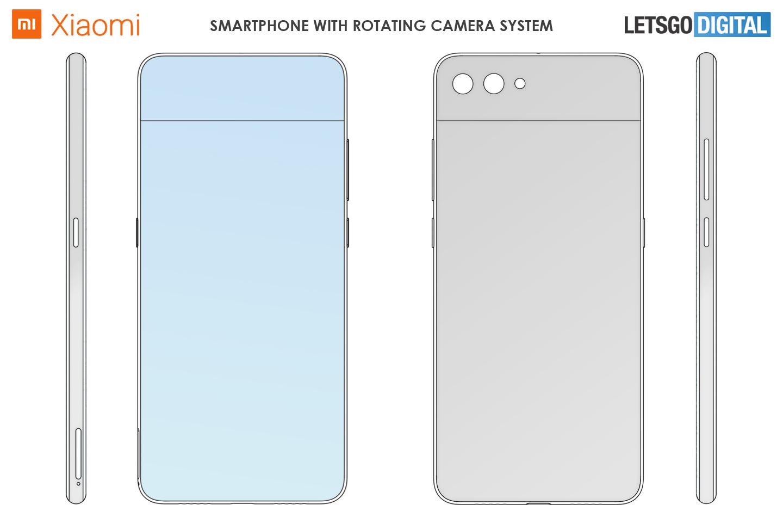 Xiaomi telefoon draaibare camera