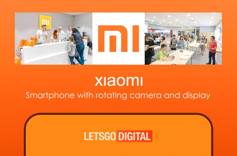 Xiaomi telefoon roterende camera