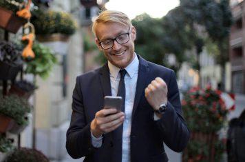 Bitcoin beheren smartphone