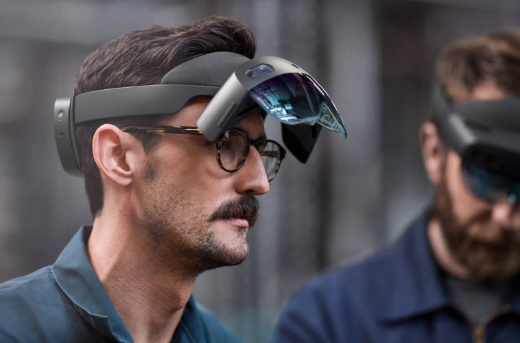 Microsoft Hololens 2 AR-VR headset