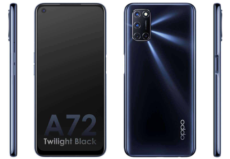 Oppo A72 smartphone