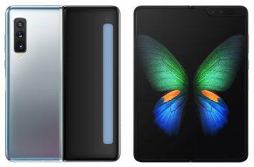 Samsung Galaxy Fold waterdichte opvouwbare telefoon