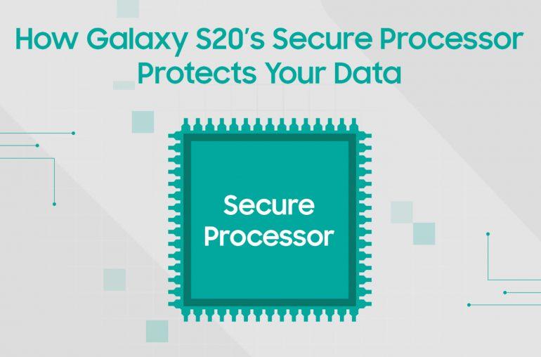Samsung Galaxy S20 beveiligde processor