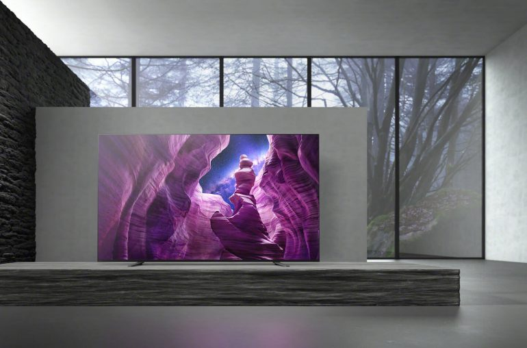Sony Bravia A8 4K OLED TV
