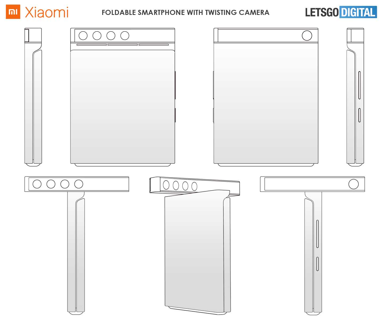 Xiaomi smartphone draaibaar camera systeem