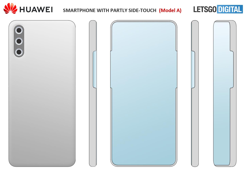 Huawei telefoon camera onder scherm