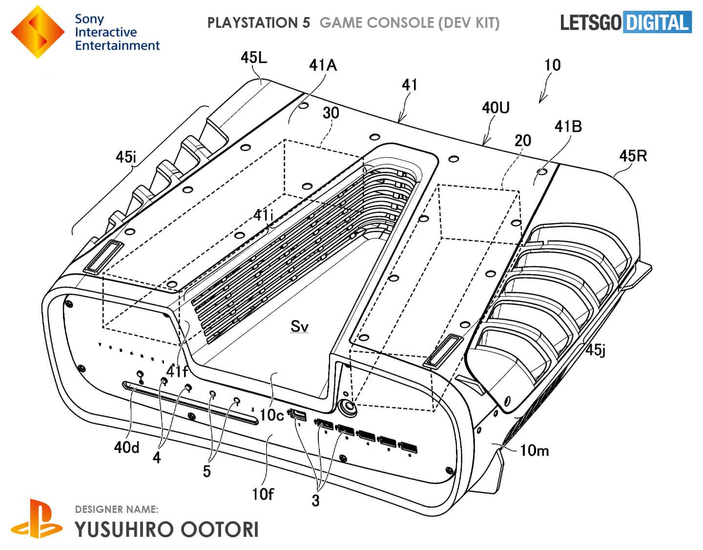 PlayStation 5 warmte afvoer