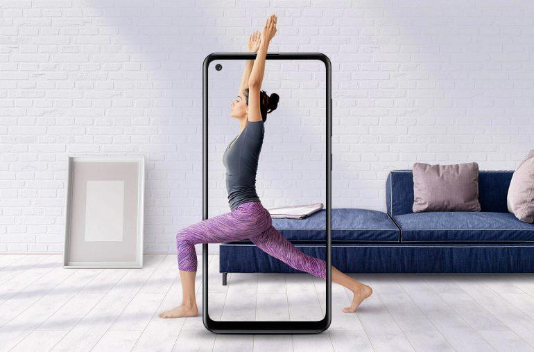 Samsung Galaxy A21s budgettelefoon