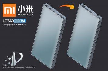 Xiaomi smartphone iPhone design