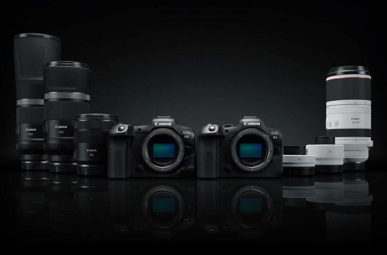 Canon EOS full-frame systeemcameras