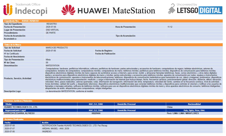 Huawei MateStation