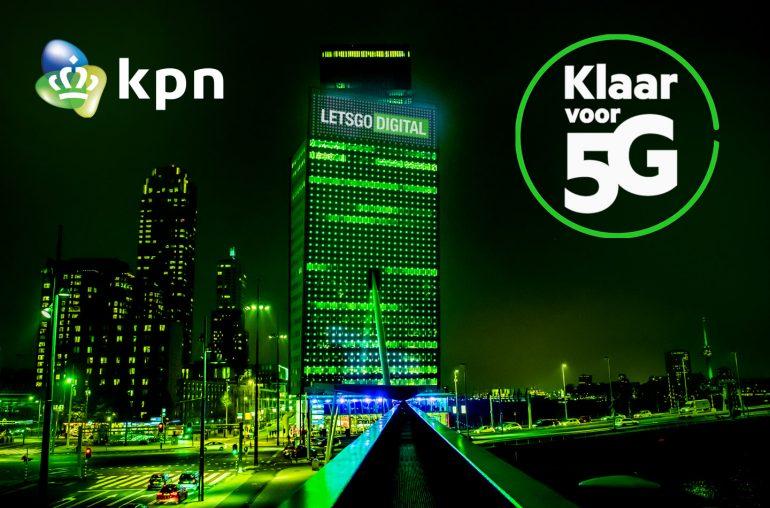 KPN 5G netwerk Nederland