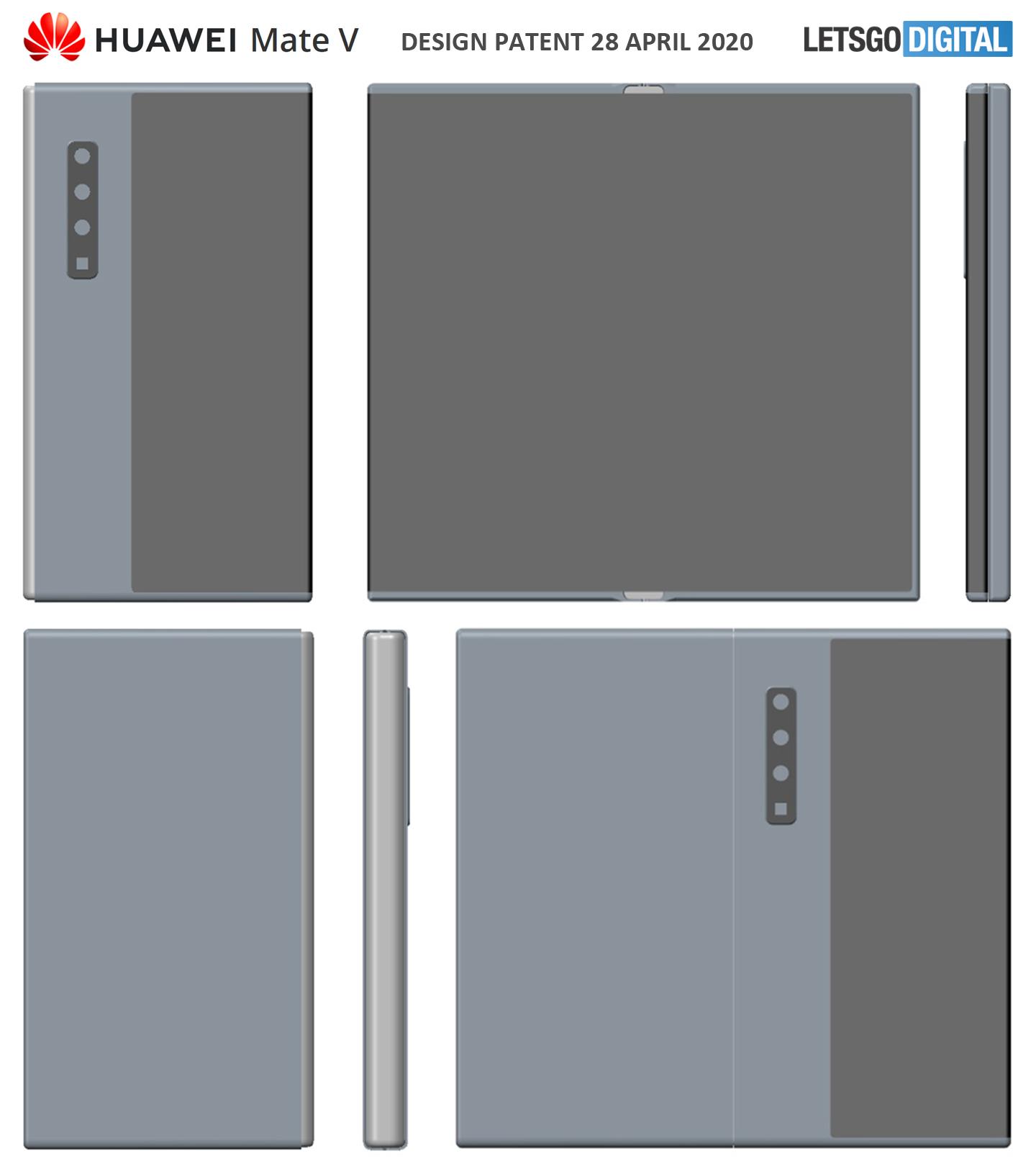Opvouwbare smartphone Huawei