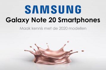 Samsung Galaxy Note 20 smartphones