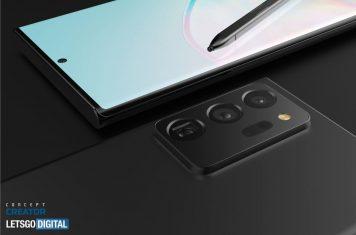 Samsung Note 20 smartphone