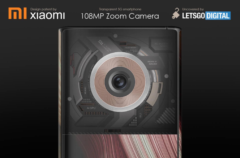 Xiaomi Mi 108MP zoom camera