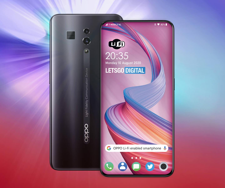 Smartphone Oppo LiFi