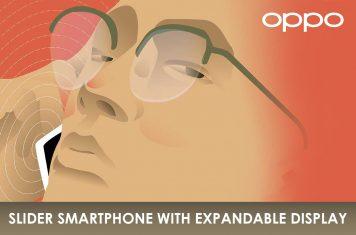 Oppo slider smartphone