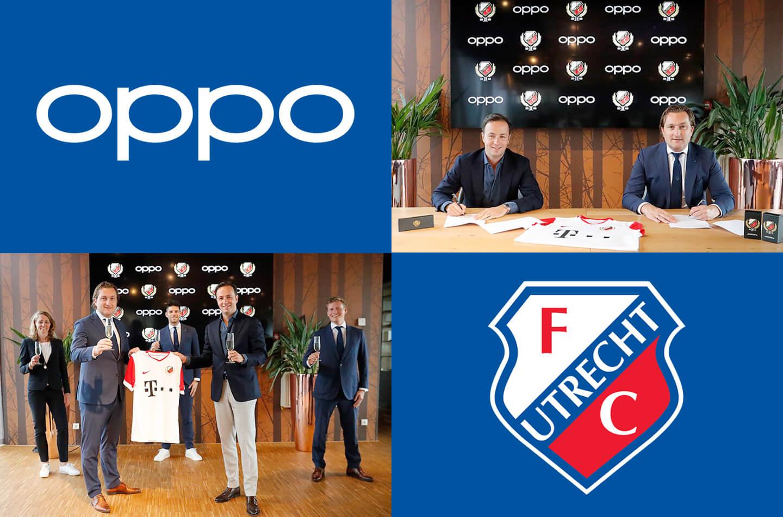 Oppo sponsor voetbalclub FC Utrecht