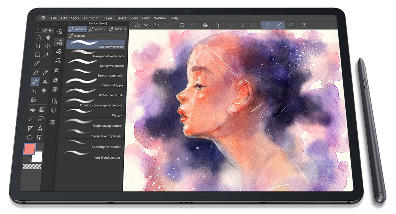 Samsung tablet S-Pen