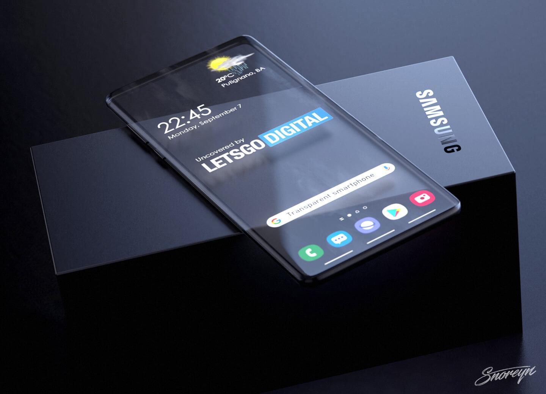 Doorzichtige smartphones