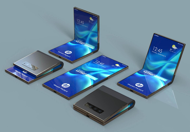HP opvouwbare smartphone