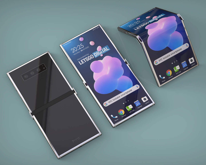 HTC klaptelefoon