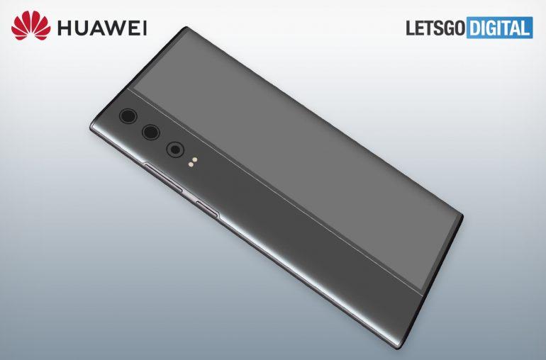 Huawei dubbelzijdige smartphone