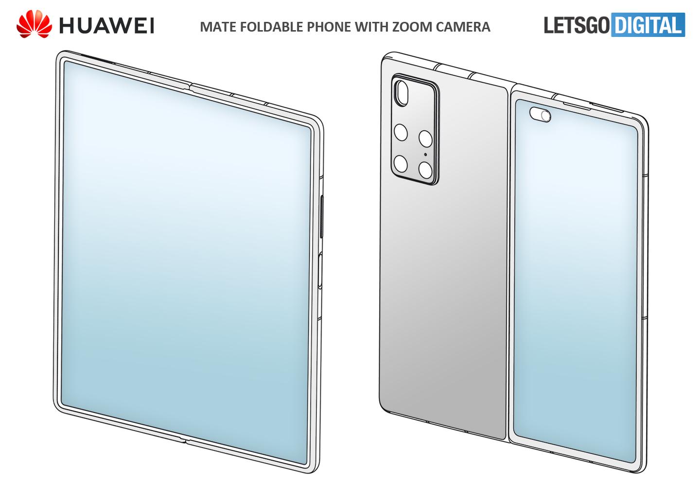 Huawei Mate opvouwbare smartphone
