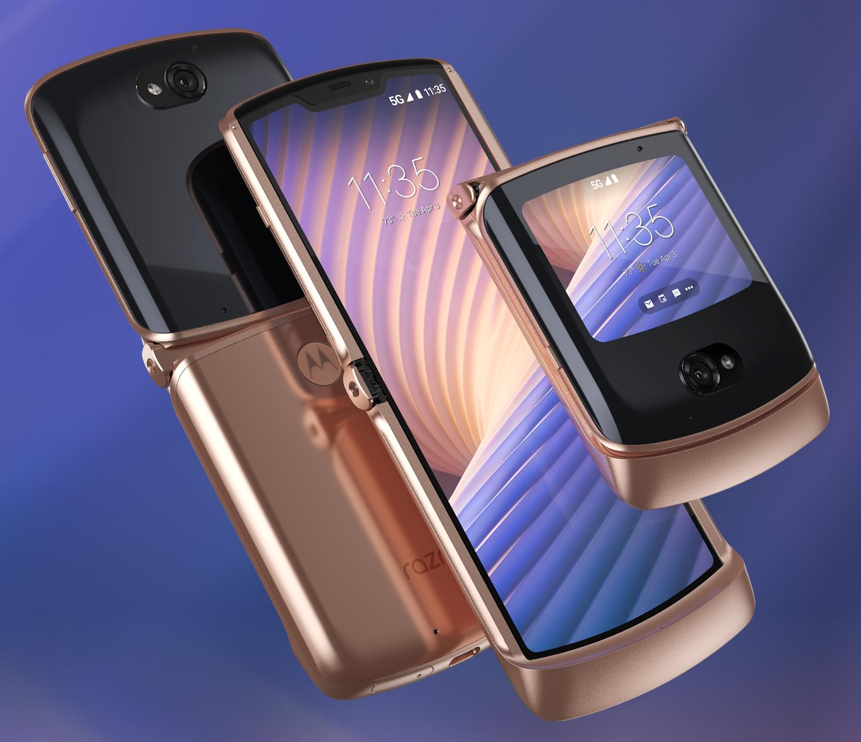 Motorola klaptelefoon