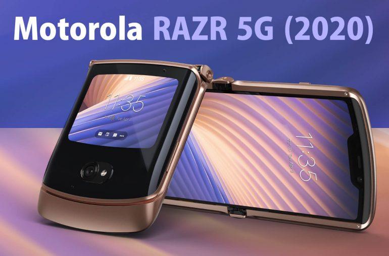 Motorola RAZR 5G opvouwbare telefoon