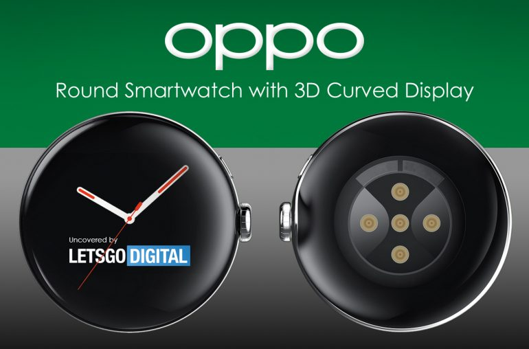 Oppo smartwatch 3D curved display