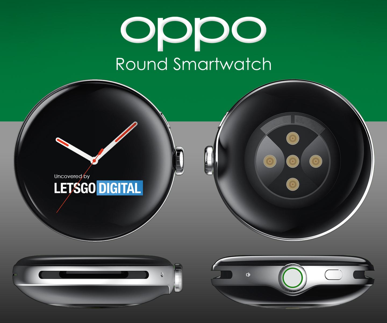 Cassa rotonda per orologio smartwatch Oppo
