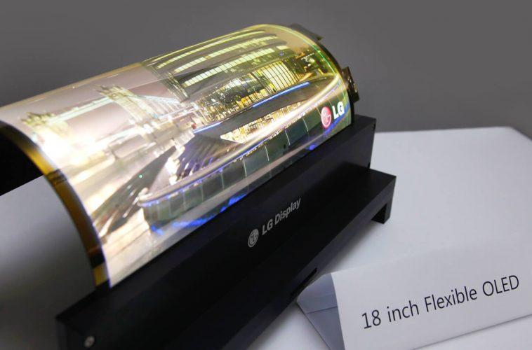 Oprolbaar display apparaat
