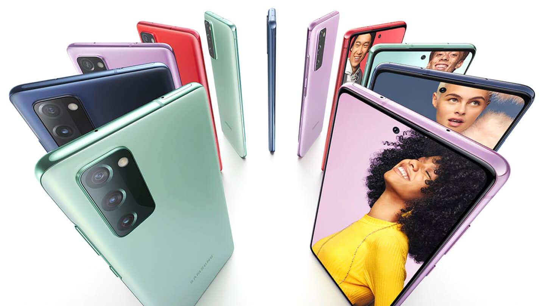 Samsung 5G telefoon