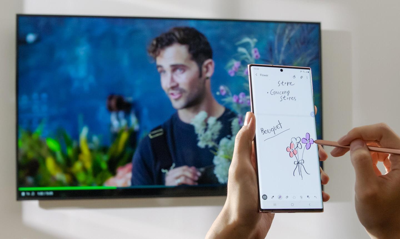Smartphone verbinden Smart TV