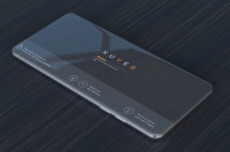 Xuver smartphone app