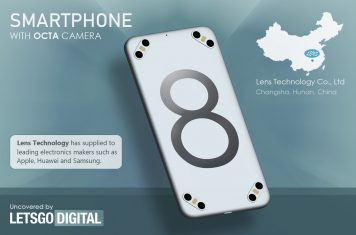 Chinese smartphone octa camera