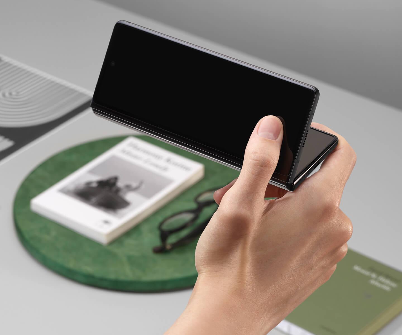 Duurzaamheidstest opvouwbare smartpones