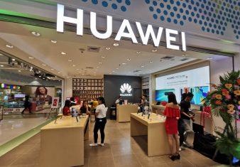 Huawei 5G opvouwbare smartphone