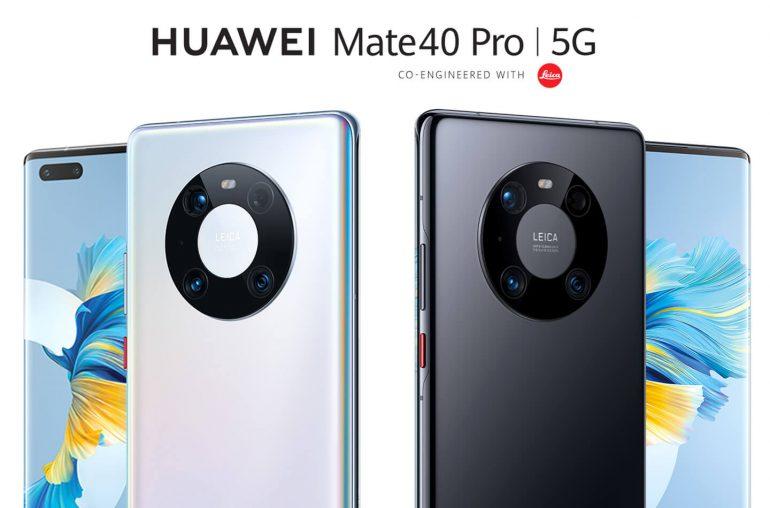 Huawei Mate 40 Pro 5G smartphone