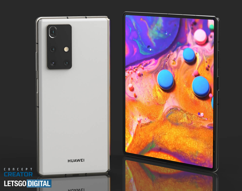Huawei Mate opvouwbare smartphones