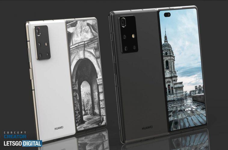 Huawei Mate X2 5G opvouwbare telefoon